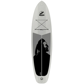 Indiana SUP 10'6 Family - Planche - with 3-Piece Fibre/Composite Paddle gris